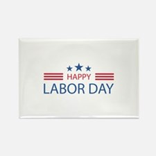 Happy Labor Day Rectangle Magnet
