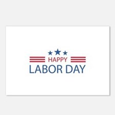 Happy Labor Day Postcards (Package of 8)