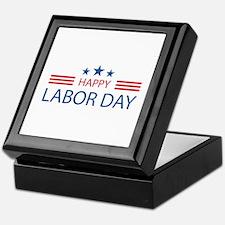 Happy Labor Day Keepsake Box