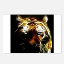 Glow Tiger Postcards (Package of 8)