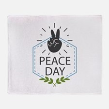 Peace Day Stadium Blanket