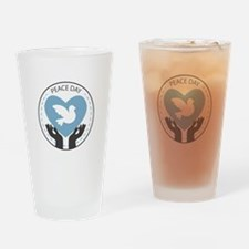 Peace Day Drinking Glass