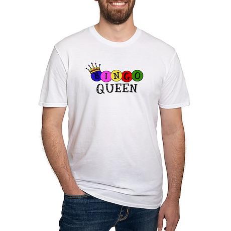 Bingo Queen Fitted T-Shirt
