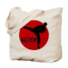 Matthew Martial Artist Tote Bag