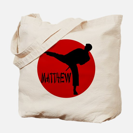 Matthew Martial Artist Tote Bag
