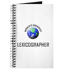 World's Greatest LEXICOGRAPHER Journal