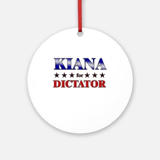KIANA for dictator Ornament (Round)