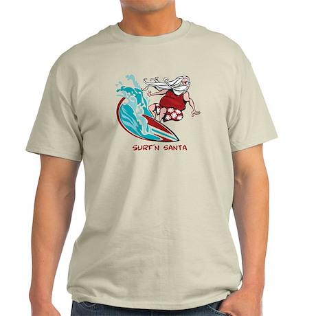 Surf'n Santa Light T-Shirt