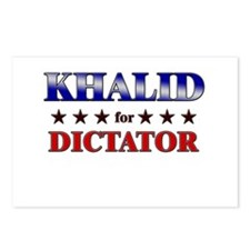 KHALID for dictator Postcards (Package of 8)