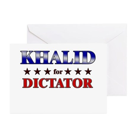 KHALID for dictator Greeting Cards (Pk of 10)