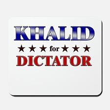 KHALID for dictator Mousepad