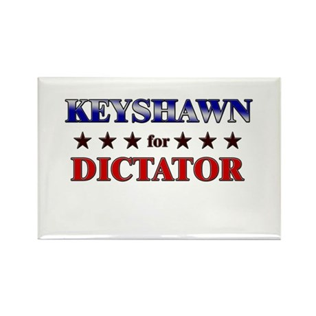 KEYSHAWN for dictator Rectangle Magnet