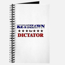 KEYSHAWN for dictator Journal