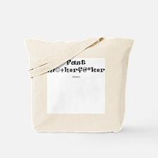 Fast MF Censored Tote Bag