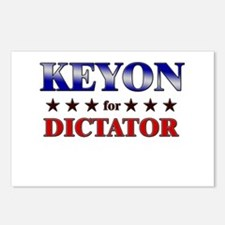 KEYON for dictator Postcards (Package of 8)