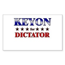 KEYON for dictator Rectangle Decal