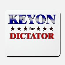 KEYON for dictator Mousepad