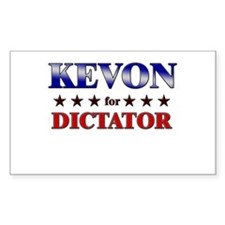 KEVON for dictator Rectangle Decal