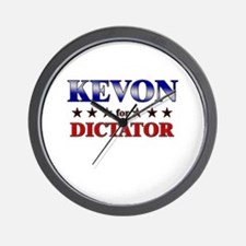 KEVON for dictator Wall Clock