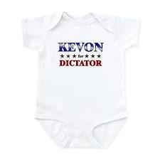 KEVON for dictator Infant Bodysuit