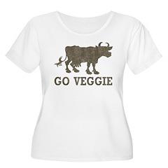 Vintage Go Veggie T-Shirt