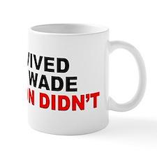 """""""I Survived Roe V. Wade: 50 Million Didn't"""" Mug"""