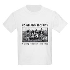 Homeland Security Indians T-Shirt
