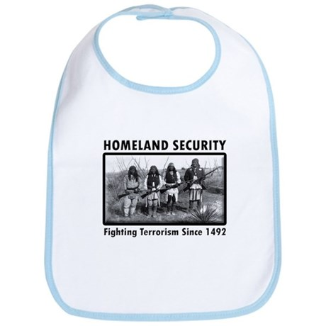 Homeland Security Indians Bib