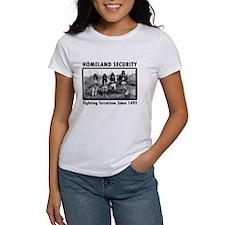 Homeland Security Indians Tee