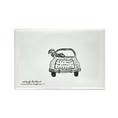 1 Rectangle Magnet (10 pack)