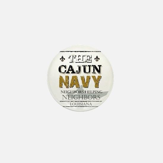 The Cajun Navy Neighbors Helping Neigh Mini Button