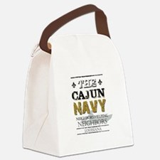 The Cajun Navy Neighbors Helping Canvas Lunch Bag