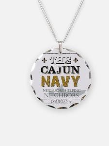 The Cajun Navy Neighbors Hel Necklace