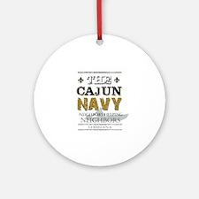 The Cajun Navy Neighbors Helping Ne Round Ornament