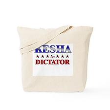 KESHA for dictator Tote Bag