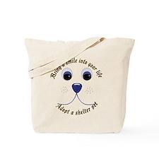 Bring a Smile Adopt Tote Bag