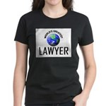 World's Greatest LAWYER Women's Dark T-Shirt