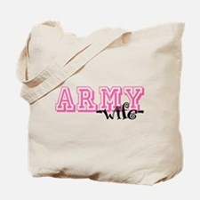 Army Wife - Jersey Style Tote Bag