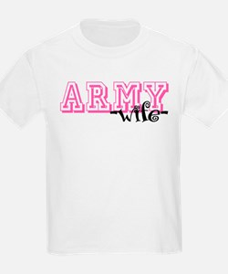 Army Wife - Jersey Style T-Shirt