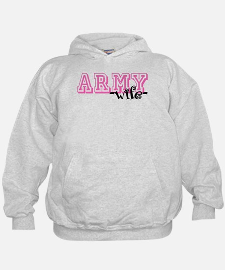 Army Wife - Jersey Style Hoodie