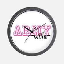 Army Wife - Jersey Style Wall Clock