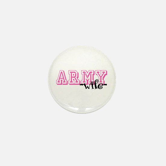 Army Wife - Jersey Style Mini Button