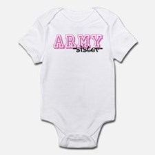 Army Sis - Jersey Style Infant Bodysuit