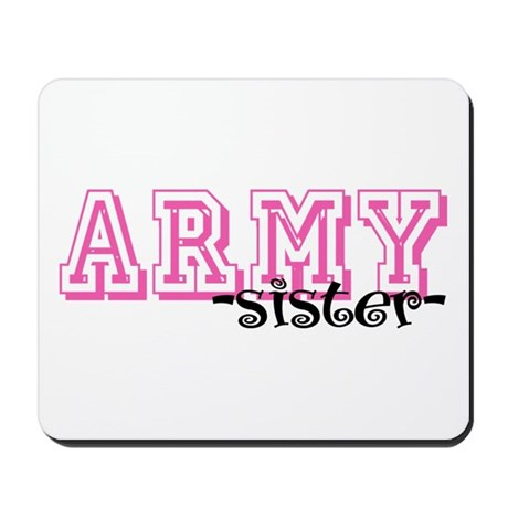 Army Sis - Jersey Style Mousepad