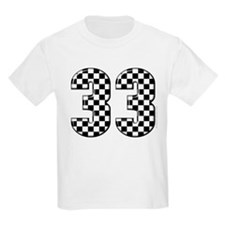 Racing Number #33 T-Shirt