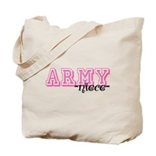Army Niece - Jersey Style Tote Bag