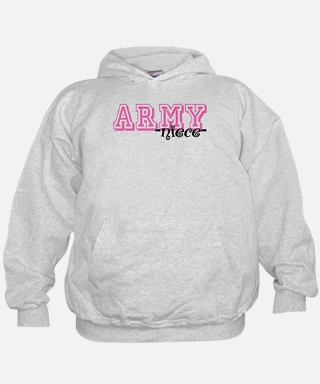 Army Niece - Jersey Style Hoodie