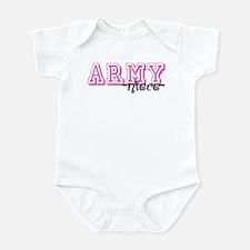 Army Niece - Jersey Style Infant Bodysuit