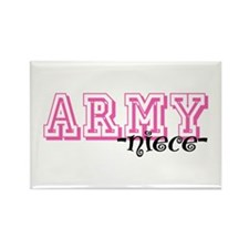 Army Niece - Jersey Style Rectangle Magnet