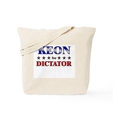 KEON for dictator Tote Bag
